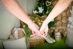влюбленность совместно Стоковое Изображение