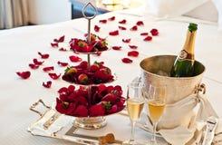 Влюбленность: Сюита медового месяца Стоковые Фотографии RF