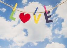 Влюбленность 10 слова Стоковая Фотография RF