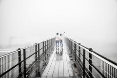 Влюбленность тумана стоковое фото rf