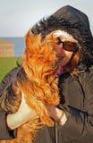 Влюбленность щенка Стоковые Фотографии RF