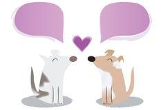 Влюбленность щенка Стоковая Фотография RF