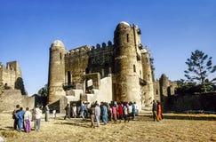 Влюбленность людей, который нужно пожениться в Gondar Стоковое Изображение