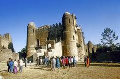 Влюбленность людей, который нужно пожениться в Gondar Стоковое Фото