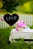 Влюбленность ярлыка Стоковые Фотографии RF