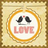 Влюбленность Card13 Стоковое Изображение