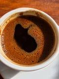 Влюбленность Coffe Стоковое Фото