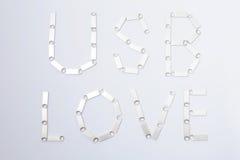 Влюбленность USB написанная ручками USB Стоковые Изображения
