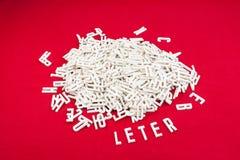 Габаритные письма Стоковая Фотография RF