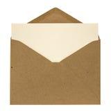 Габарит и карточка Стоковое Изображение