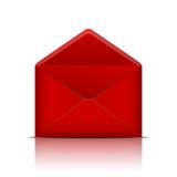 Габарит красного цвета открытый иллюстрация штока