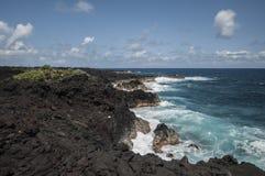 Гаваиская береговая линия Стоковая Фотография