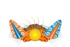 гаваиская иллюстрация Стоковые Изображения