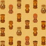 Гаваиская маска Tiki племенная бесплатная иллюстрация