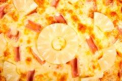 Гаваиская пицца стоковое изображение rf