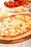 Гаваиская пицца стоковые фото