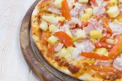 гаваиская пицца Стоковая Фотография