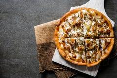 гаваиская пицца Стоковое Изображение