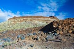 Гаваиские руины виска стоковая фотография