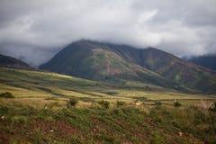 Гаваиские холмы Стоковая Фотография RF