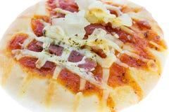 Гаваиский изолят пиццы хлеба Стоковые Фотографии RF
