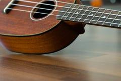 Гаваиский конец гавайской гитары вверх Стоковая Фотография RF