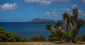 Гаваи Kai смотря к голове Оаху диаманта Стоковые Изображения RF