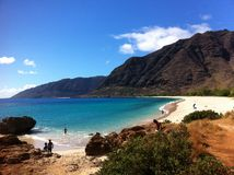 Гавайские островы, котор нужно переместить Стоковая Фотография