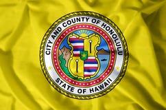 Гавайские островы honolulu иллюстрация штока
