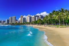 Гавайские островы honolulu стоковая фотография