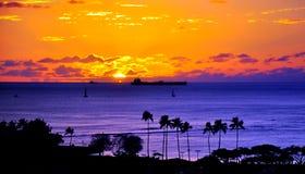 Гавайские островы honolulu Стоковые Фотографии RF