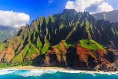 Гавайские островы kauai стоковые фотографии rf