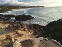 Гавайские островы kauai стоковое изображение rf