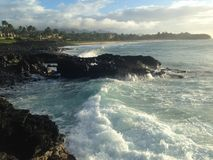 Гавайские островы kauai Стоковые Изображения RF