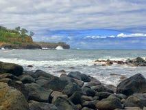Гавайское морское побережье стоковое фото