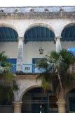 Гавана, Куба, август 2017: Старое здание Гаваны Стоковые Фотографии RF