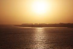 Гавана Куба в солнечности Стоковые Фото