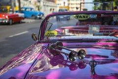 Гавана, клаксон автомобиля Стоковые Изображения