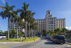 Гавана, национальная гостиница Стоковое фото RF