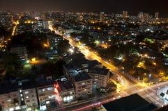 Гавана с салоном Coppelia мороженного в ноче Стоковое Изображение RF