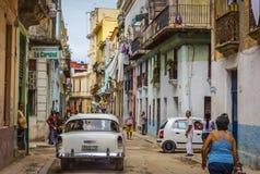 Гавана, улица Стоковые Фотографии RF