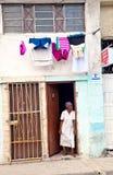 ГАВАНА 30-ОЕ ДЕКАБРЯ: Улица в старой части города 3-ье декабря Стоковая Фотография RF