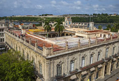Гавана, Palacio de los Capitanes Generales Стоковое Изображение RF