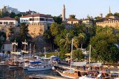 Гавань Антальи, Турции стоковое фото