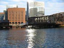 Гавань Бостона, Бостон, Массачусетс, США стоковое изображение rf