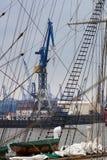 Гавань в Гамбурге Стоковые Фотографии RF