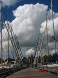 Гавань в Нидерландах Стоковые Изображения