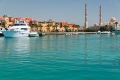 Гавань в Hurghada Стоковые Фото