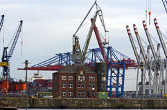 Гавань Гамбург стоковые фото