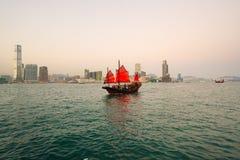 Гавань Гонконга стоковое изображение rf